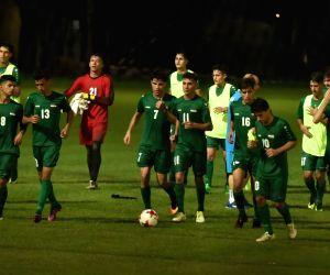 U17 WC - Iraq practice season