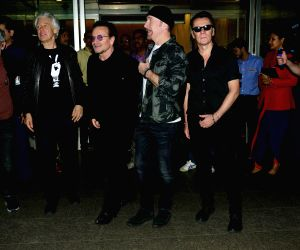 Irish rock band U2 in Mumbai