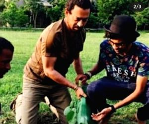 Irrfan Khan used to write notes on the walls of his son's room