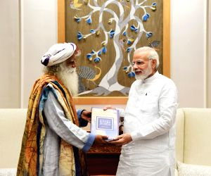 Sadhguru calls on Modi