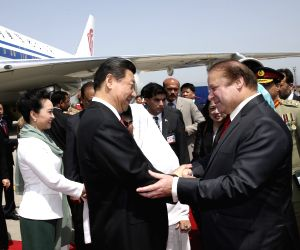PAKISTAN CHINA XI JINPING WELCOMING CEREMONY