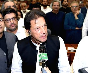 Imran Khan takes oath as 22nd Pakistani PM