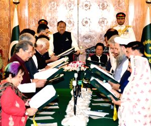 PAKISTAN-ISLAMABAD-NEW CABINET-OATH TAKING CEREMONY