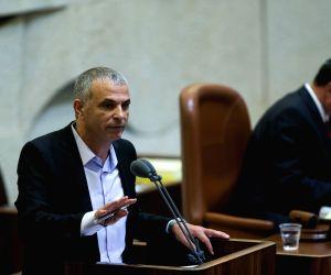 MIDEAST JERUSALEM ISRAEL KNESSET BUDGET VOTE
