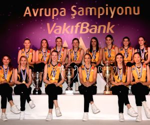 TURKEY ISTANBUL VAKIFBANK CEV CHAMPIONS PRESS CONFERENCE