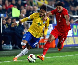 Istanbul (Brazil): Friendly match against Turkey