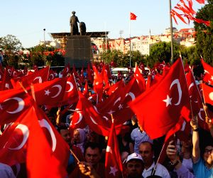 TURKEY ISTANBUL COUP ATTEMPT PROTEST