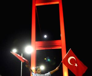 TURKEY ISTANBUL BOSPHORUS BRIDGE RALLY