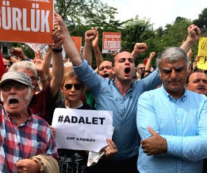 TURKEY-ISTANBUL-PROTEST