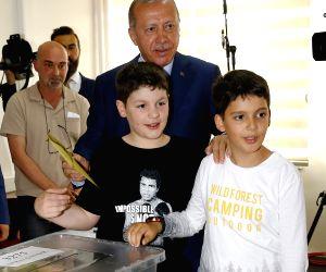 TURKEY-ISTANBUL-ELECTIONS-ERDOGAN
