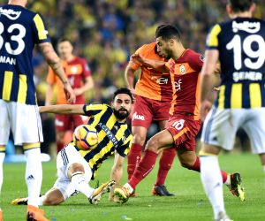 TURKEY-ISTANBUL-SOCCER-TURKISH SUPER LEAGUE-FENERBAHCE VS GALATASARAY