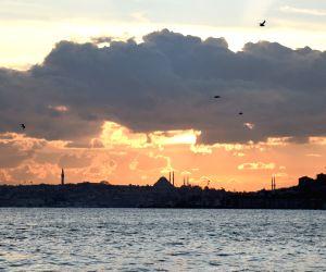 TURKEY-ISTANBUL-SUNSET