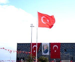 TURKEY ISTANBUL REPUBLIC DAY RED