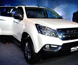 Isuzu Motors launches MU-X
