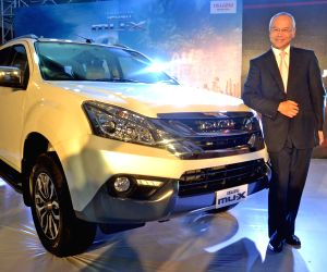 Isuzu MU-X SUV - launch