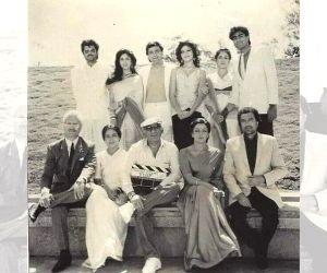 Rajesh Khanna, Anupam Kher, Rishi & Anil Kapoor in rare throwback pic