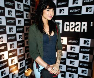 Jacqueline Fernandez at the launch of MTV Wildcraft range of bags and adventure gear at Bandra.