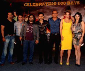 Jagjit Singh, Kailash Kher and Hard Kaur launch Satinder Sartaaj's album at Sea Princess.