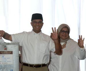 INDONESIA JAKARTA GUBERNATORIAL ELECTION ANIES BASWEDAN