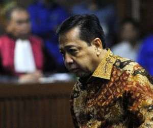 INDONESIA-JAKARTA-FORMER HOUSE SPEAKER-SENTENCE
