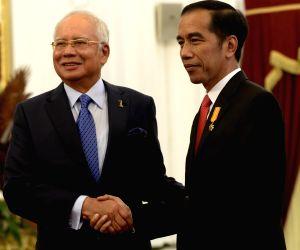 INDONESIA JAKARTA MALAYSIAN PM VISIT