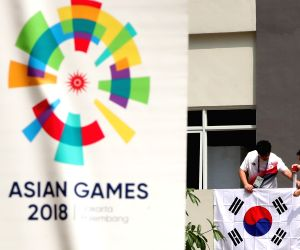 INDONESIA-JAKARTA-ASIAN GAMES-ASIAN GAMES VILLAGE