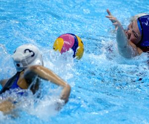 INDONESIA-JAKARTA-ASIAN GAMES-WATER POLO-CHINA VS JAPAN