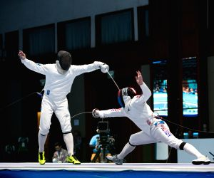 INDONESIA-JAKARTA-ASIAN GAMES-FENCING-MEN'S EPEE INDIVIDUAL