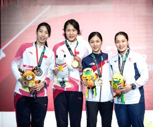 INDONESIA-JAKARTA-ASIAN GAMES-FENCING-WOMEN'S SABRE INDIVIDUAL