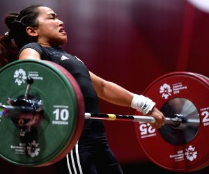 INDONESIA-JAKARTA-ASIAN GAMES-WEIGHTLIFTING