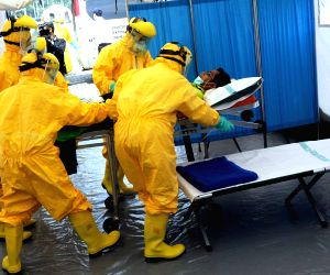 Jakarta (Indonesia): Ebola prevention exercise