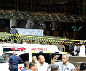 INDONESIA JAKARTA STOCK EXCHANGE BUILDING COLLAPSE
