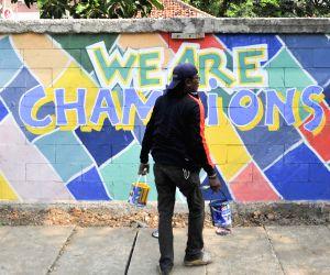 INDONESIA JAKARTA ASIAN GAMES GRAFFITI