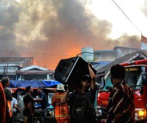 INDONESIA JAKARTA FIRE