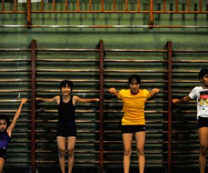 INDONESIA-JAKARTA-YOUNG ATHLETES PRACTICE