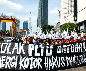 INDONESIA JAKARTA ENVIRONMENT RALLY