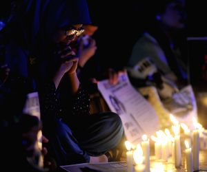 INDONESIA JAKARTA LIGHTS AGAINST SEXUAL VIOLENCE