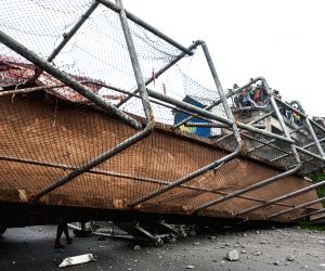 INDONESIA TANGERANG BRIDGE COLLAPSE