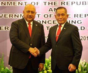 INDONESIA-JAKARTA-FIJIAN DEFENSE MINISTER-VISIT
