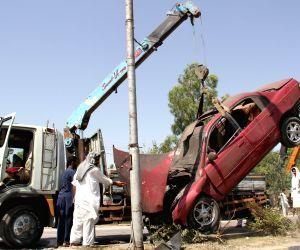 Roadside bomb blast