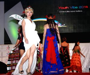 Fashion show during 'Youth Vibe-2014'