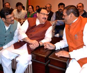 BJP leaders launchs party's membership drive through a toll free number