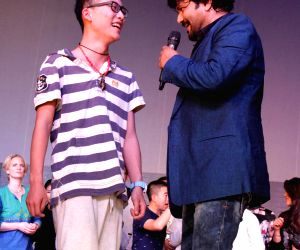 Babul Supriyo performs during a college programme
