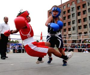 All India Inter University Women Boxing Championship - 2015