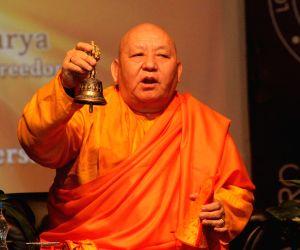 Guru Karma Acharya preaches students