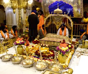 Prakash Parv celebrations of Guru Gobind Singh at Golden Temple