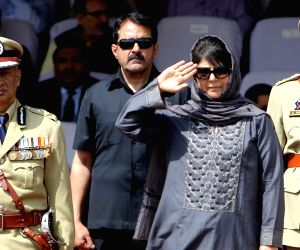 Independence Day celebrations - Mehbooba Mufti