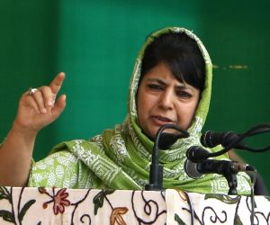 Mehbooba thanks people for condemning use of abusive language