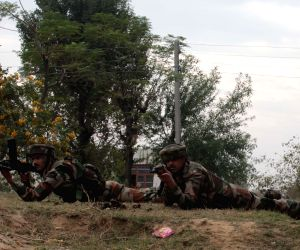 Eight killed in gunfight near Jammu border