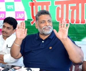 Pappu Yadav's press conference